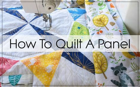 how to sew a quilt how to make a quilt using a quilt panel blossom quilts