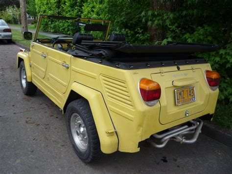 volkswagen jeep vintage curbside classic vw type 181 thing it can be anything