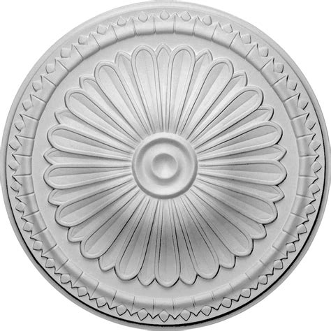 Small Two Ceiling Medallions by Ekena Millwork Cm14ax 15 Inch Od X 1 3 4 Inch P