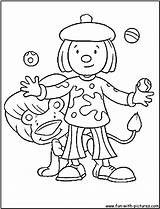 Juggler Coloring Jobs Printable Colorear Kb Dibujos Malabarista Ocupaciones sketch template
