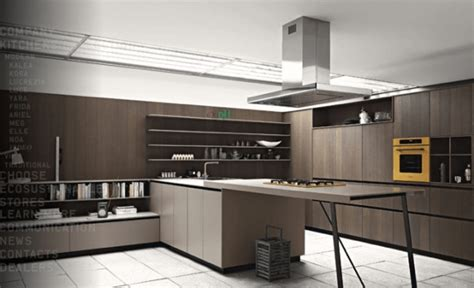 brown kitchen design ideas モダンでオシャレなキッチンいろいろ modern kitchens from cesar style4 4938
