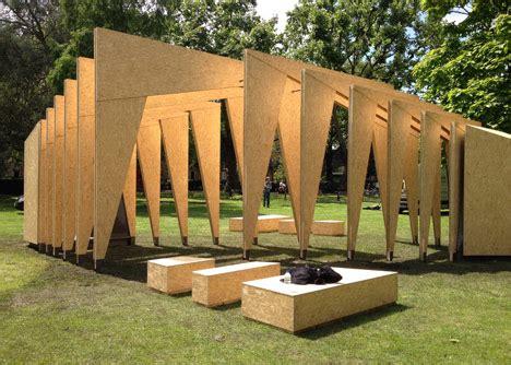Ipt Architects Creates Rib Cage Like Pavilion Using Wooden