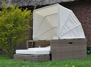 Lounge Liege Garten : beach lounge garten polyrattan liege sonneninsel liegeinsel domus ventures cubu ebay ~ Watch28wear.com Haus und Dekorationen