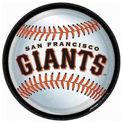 Giants Francisco San Baseball Clipart Sf Logos