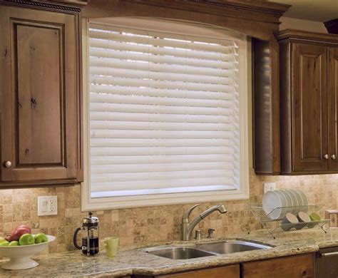 white faux wood blinds custom made white no holes privacy 2 quot faux wood