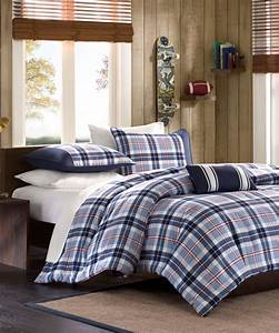 plaid boys bedding elliot collection mi zone With boy comforters and bedspreads