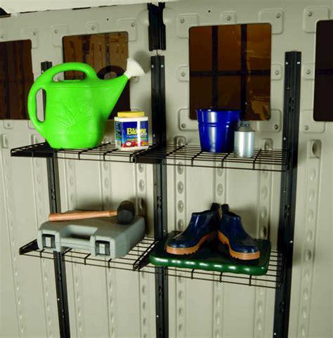 suncast cabinets at menards suncast shelf system at menards 174