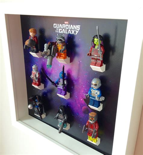 lego chambre de lego guardians of galaxy minifigures frame heroes