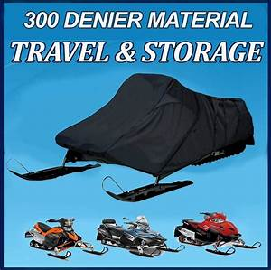 Sled Snowmobile Cover Fits Polaris 600 Iq Lx 2008