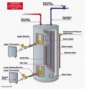 Electric Water Heater Schematic Diagram