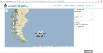 El Gobierno publicó un mapa oficial donde llaman a las