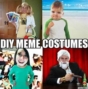 Costume Ideas Based On Your Favorite Memes - Halloween Costumes Blog