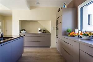 comment poser un plan de travail de cuisine sans meuble With meuble cuisine a poser sur plan de travail