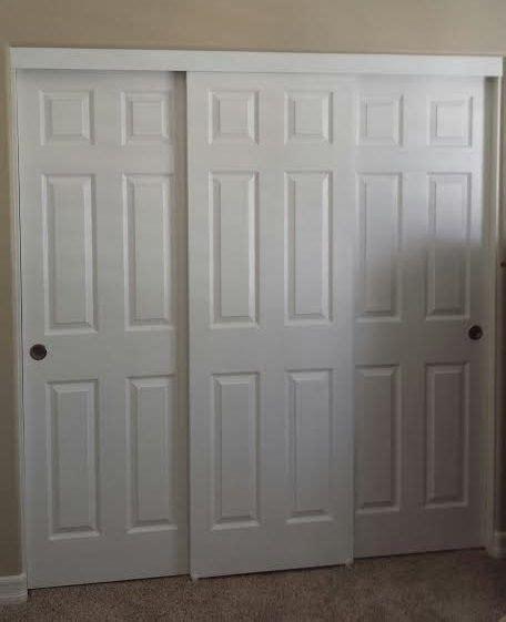 closet door panel louver and flush doors closet