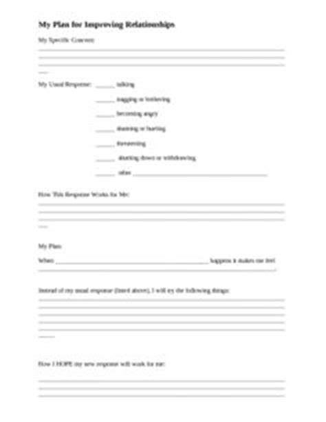 relationship building shared qualities worksheet