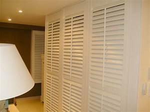 Porte Dressing Sur Mesure : porte de placard persienne ~ Premium-room.com Idées de Décoration