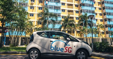 Bluesg Finally Launches Electric Car Sharing In Singapore