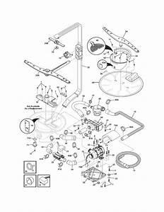 Electrolux Model Ewdw6505gs0 Dishwasher Genuine Parts
