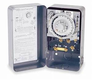 Defrost Timer 208  240v Spdt Switch Paragon 8145