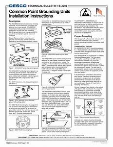 Common Point Grounding Units Installation Instructions