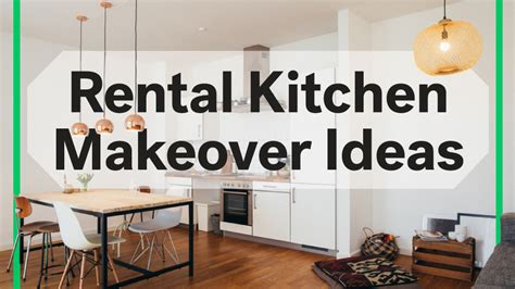 decorating kitchen countertops ideas 8 rental kitchen makeovers 100 at home