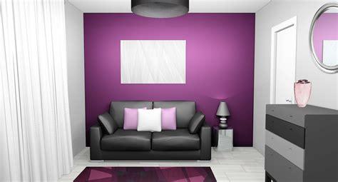 chambre gris et violet 12 couleurs pour dynamiser votre intérieur