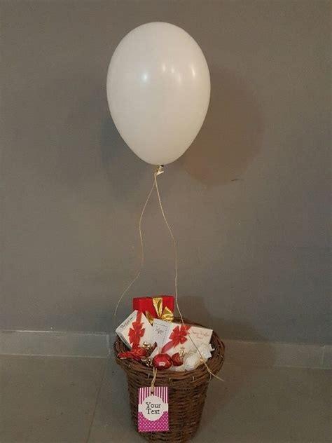 diy hot air balloon gift basket step  step instructions