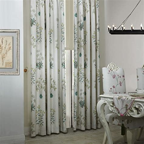 IYUEGO Country Botanical Grass Print Cotton Linen Eco