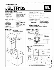 Jbl Tr105 Sm Service Manual Download  Schematics  Eeprom  Repair Info For Electronics Experts