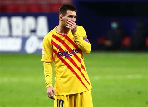 Lionel Messi: Footage of Barcelona star vs Atletico Madrid ...