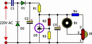 220vac Operated Remote Tester Circuit Diagram