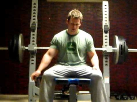 "400 Lb Bench Press Lockout From 5"" Above Chest (at 205"