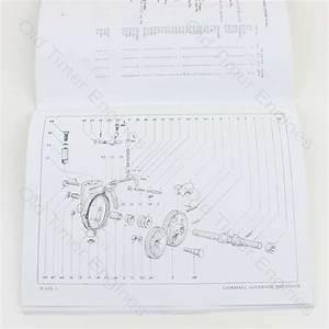 Lister Cs Instruction Manual  U0026 Parts List  Reprint