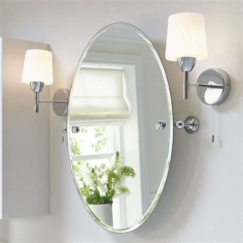 Tilting Bathroom Mirror by Savoy Tilting Oval Bathroom Mirror 650 X 586mm In 2019
