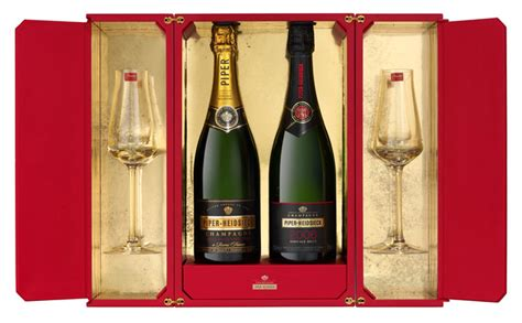Exclusive Champagne Gift Box By Piper-heidsieck And