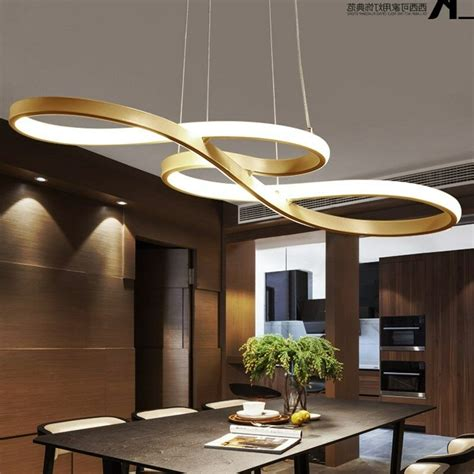 led chandelier dining room ceiling light acrylic