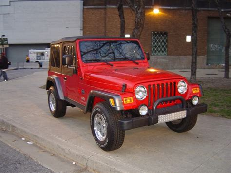 red jeeps red jeep trucks jeeps and suvs car pictures by carjunky