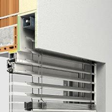 roma modulo p fensterbau kuhnert raffstore modulraffstore fassadenraffstore modulo objekt 400