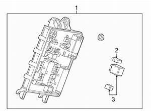 Cadillac Srx Fuse And Relay Center  Rear Body  All