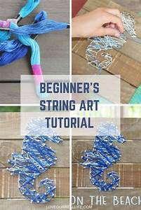 How To Make String Art  A Beginner U0026 39 S Guide  U22c6 Love Our Real
