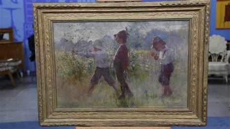 adam emory albright oil painting antiques roadshow