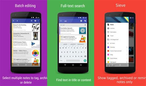 open source android apps 7 best open source note taking apps for android phone and