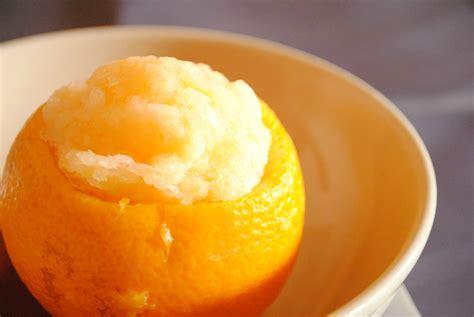 dessert avec des oranges orange givr 233 e