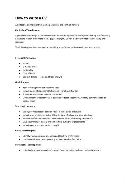 how to make cv resume samples 16 how to write curriculum vitae basic job appication