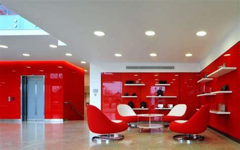 morgan lovell paints   rackspace office red