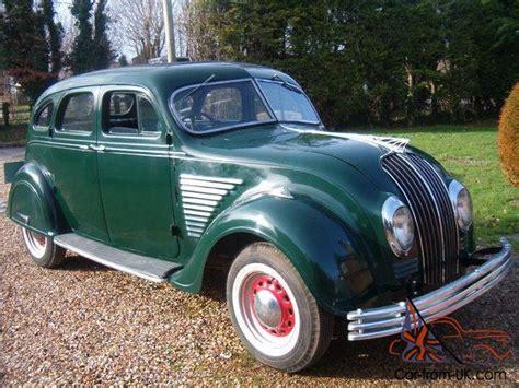 Chrysler Airflow 1934 Rhd