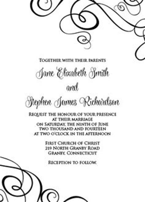 FREEDownload Simply elegant swirls border wedding