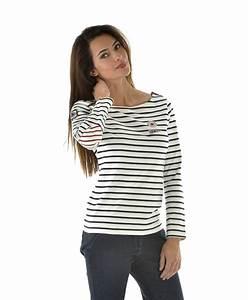 T Shirt Mariniere Homme : marini re femme ray naturel t shirt polo top mode ~ Melissatoandfro.com Idées de Décoration
