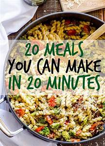 17 Best ideas about Quick Meals For Dinner on Pinterest