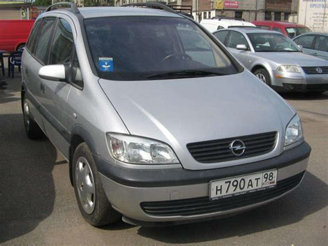 Opel Zafira Diesel by 2002 Opel Zafira Pictures 2000cc Diesel Ff Manual For